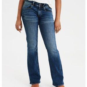 AE kick boot jeans medium wash LONG